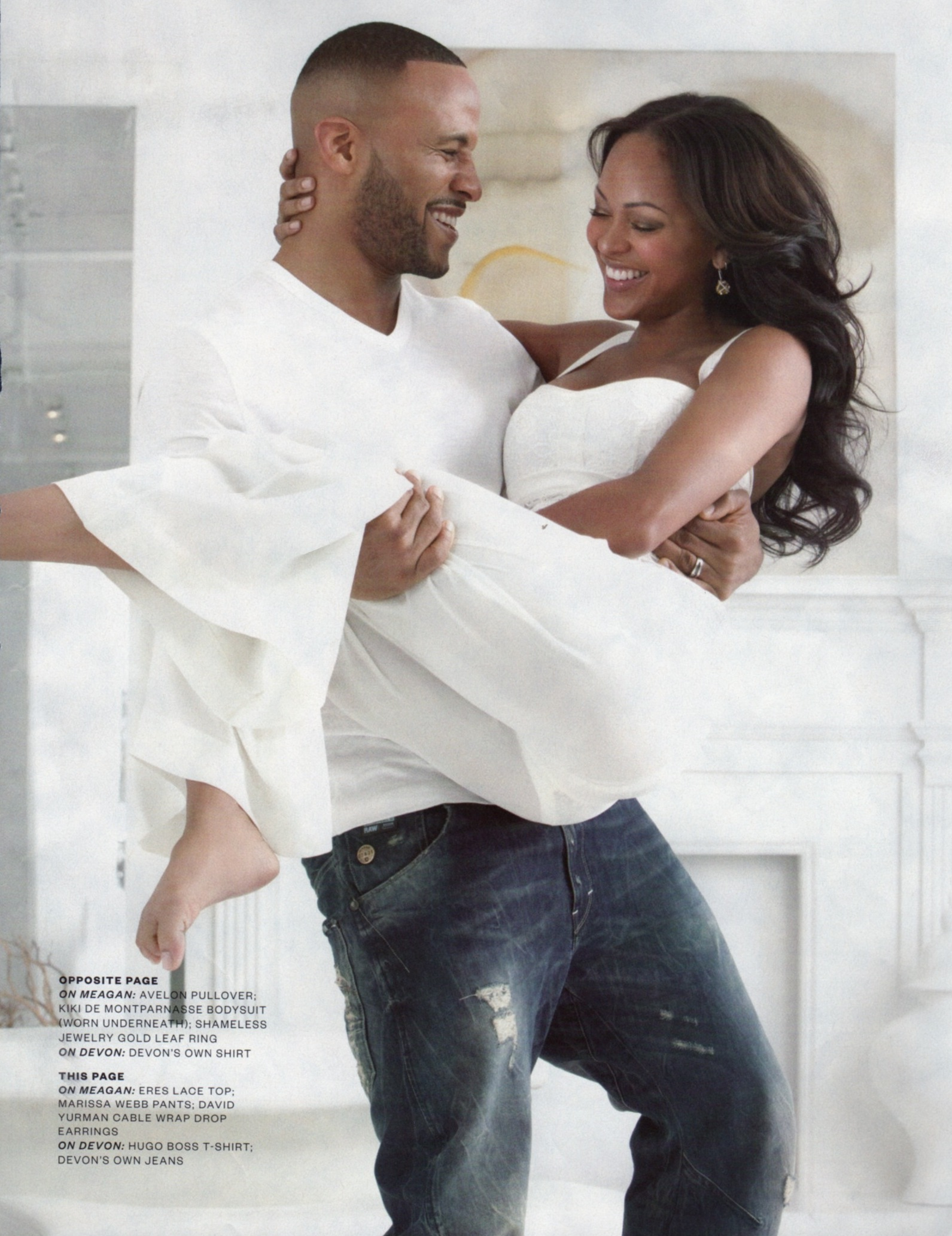 Meagan Good Wedding Pictures